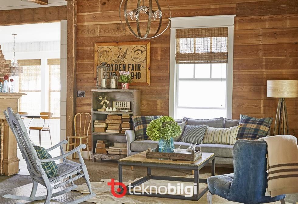 İçinizi Isıtacak 10 Rustik Oda Dekorasyonu