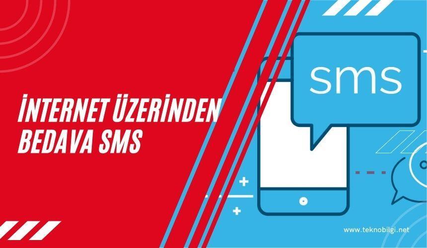 internet üzerinden telefona bedava sms atma, İnternet Üzerinden Telefona Bedava SMS Atma İşlemi
