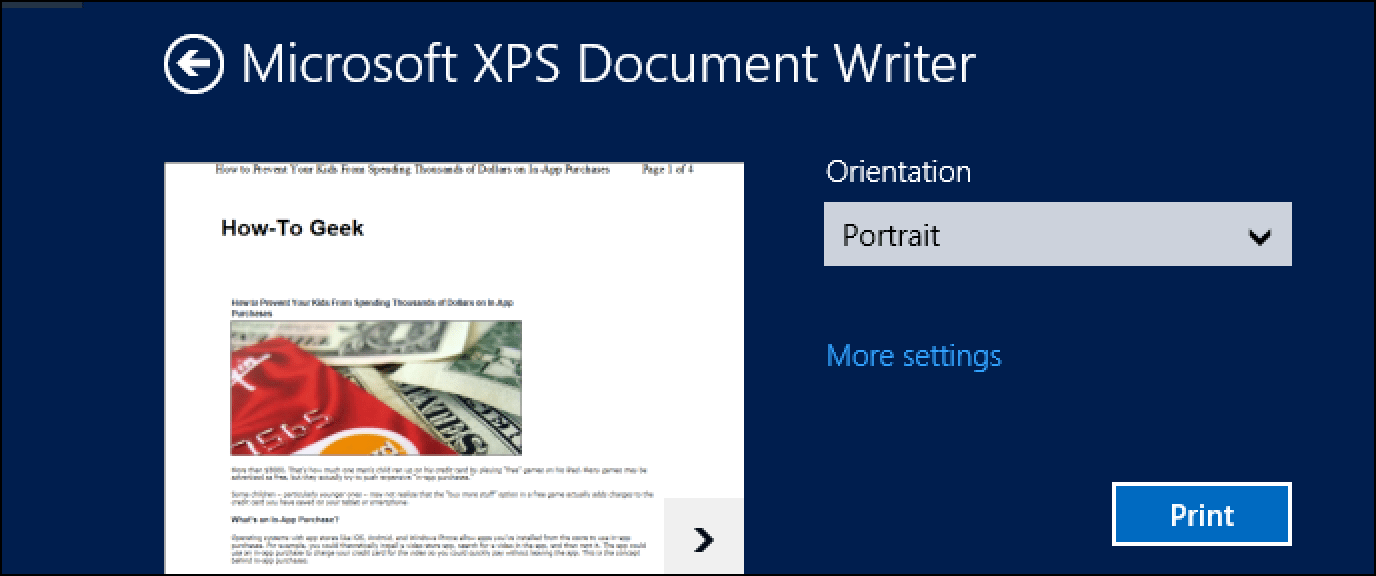 , XPS To JPG Dönüştürücü