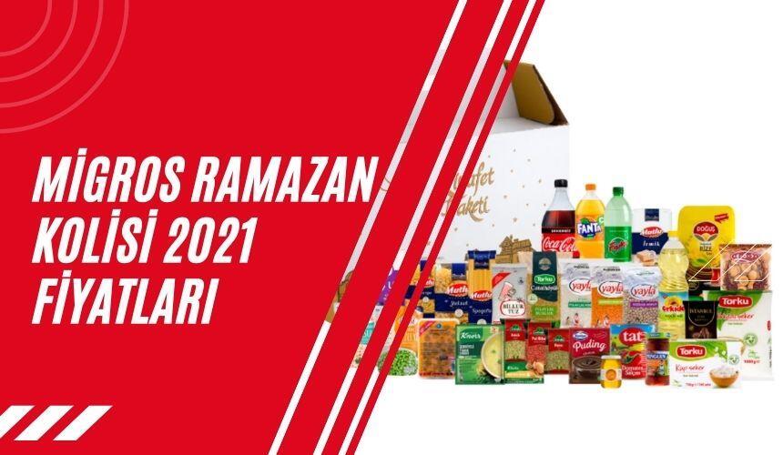 Migros Ramazan Kolisi 2021 Fiyatları