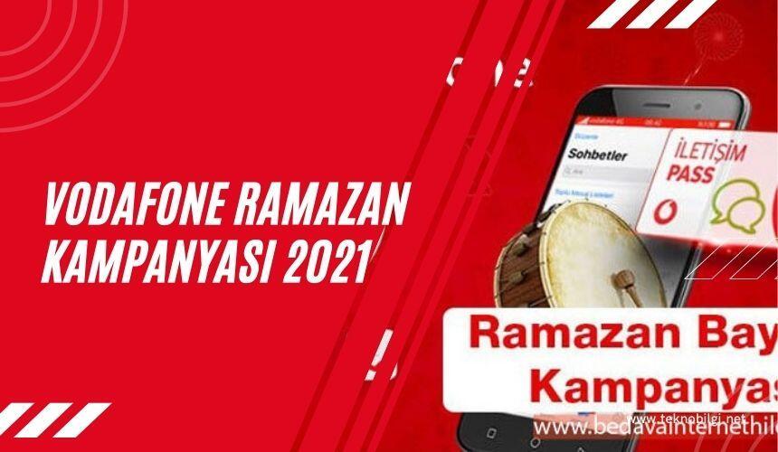 Vodafone Ramazan Kampanyası 2021, Vodafone Ramazan Kampanyası 2021