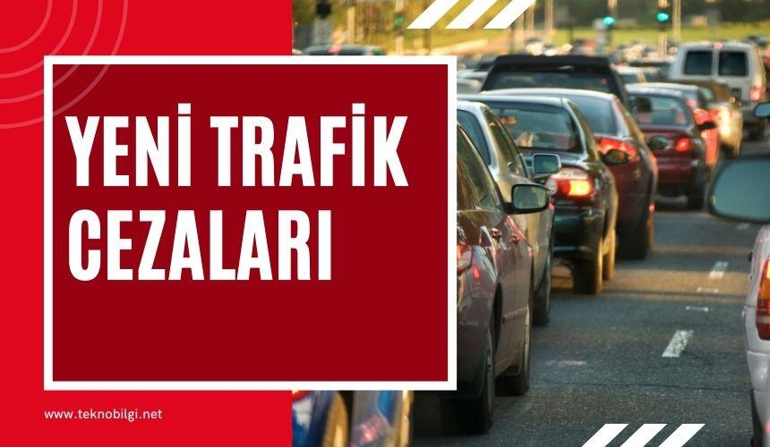 Yeni Trafik Cezaları, Yeni Trafik Cezaları 2021